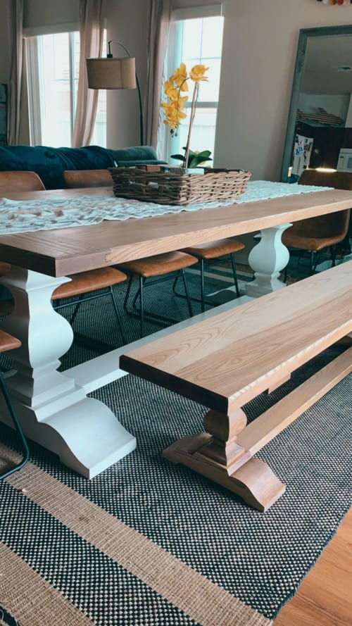 Large dining table | Tables by Rivy's Woodworks