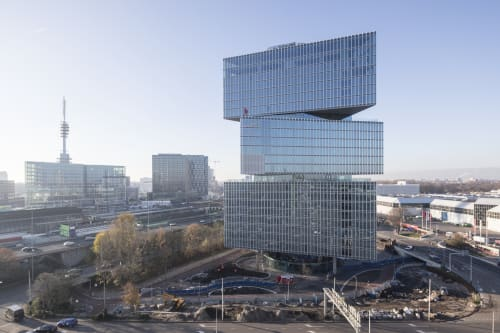 Architecture by OMA seen at Netherlands, Amsterdam - nhow Amsterdam RAI Hotel