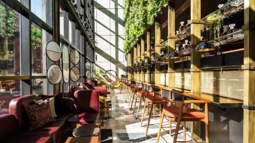 Interior Design by Stonehill & Taylor seen at Moxy NYC Chelsea, New York - Interior Design
