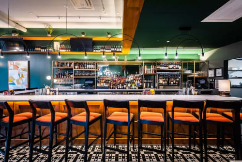 The Eastern, Restaurants, Interior Design