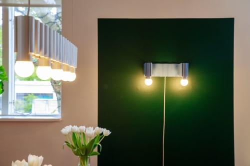 Corrugation Lights | Lighting Design by Theodora Alfredsdottir | Ásmundarsalur in Reykjavík