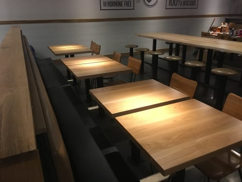 Tables By Rustic Trades Furniture At Dosbros Fresh Mexican Grill Dalton Dining And