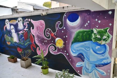 Nati Salsa - Murals and Art