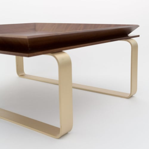 Tables by Marie Burgos Design at Private Residence, New York - Le Tray Coffee Table