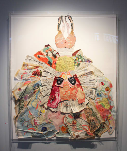 Art & Wall Decor by Peter Clark Collage at Portland Gallery, London - Artworks at Portland Gallery