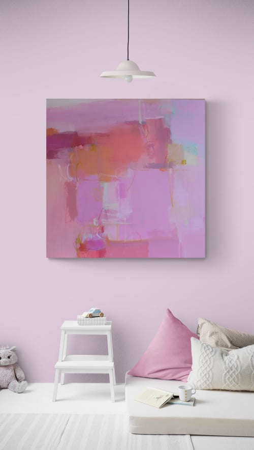 Paintings by Valerie McMullen seen at Allison Sprock Fine Art, Charlotte - Pinked My Interest