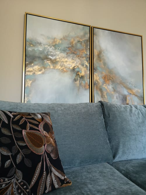 Art Curation by Egle's Paintings seen at Private Residence, Kaunas - Private House in Kaunas