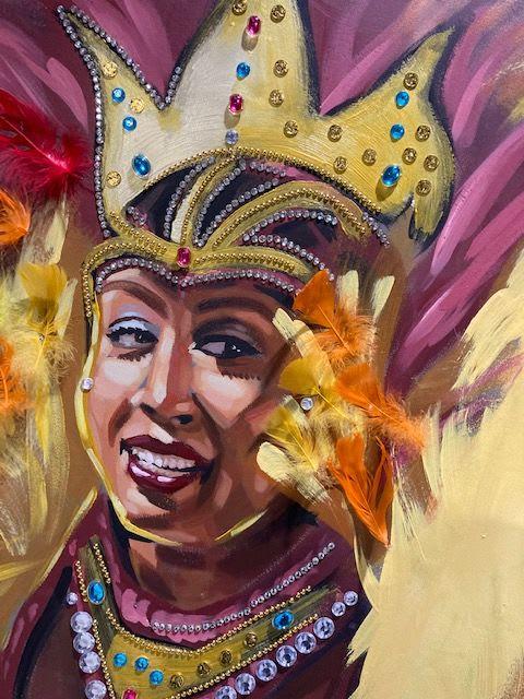 Murals by Art By David Anthony seen at Drupatis Caribbean Restaurant, Vaughan - Drupati's