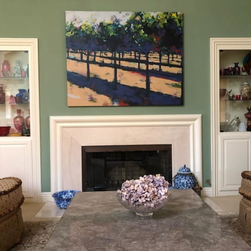 Paintings by Joanne Beaule Ruggles seen at Private Residence, San Luis Obispo - Painting