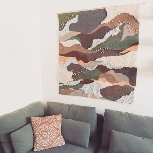 Wall Hangings by Laura Ambrosio Art seen at Private Residence, Sacramento - Into the Wild