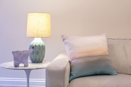 Pillows by Marie Burgos Design at Private Residence, New York - CAPPUCINO PILLOW