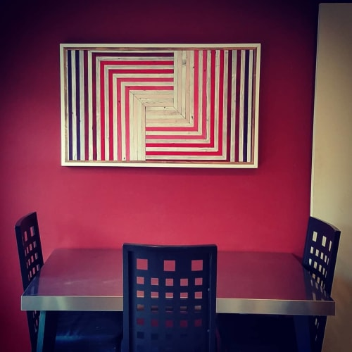 Art & Wall Decor by Recovered Calling seen at Private Residence, Houston - Art piece
