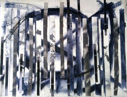 Ferns and Slashes   Art & Wall Decor by LNozickArt/Design