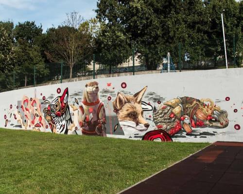 Fedor Rua - Murals and Street Murals
