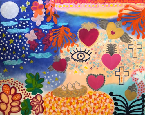 Paintings by Ankica Art seen at Private Residence, Melbourne - Sacred Love