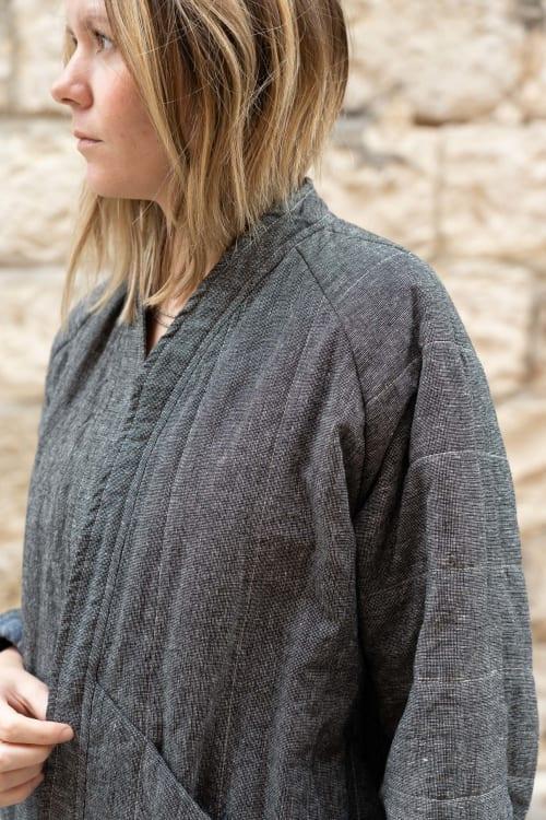 Apparel & Accessories by Vacilando Quilting Co. seen at Deception Pass - East Quilt Coat