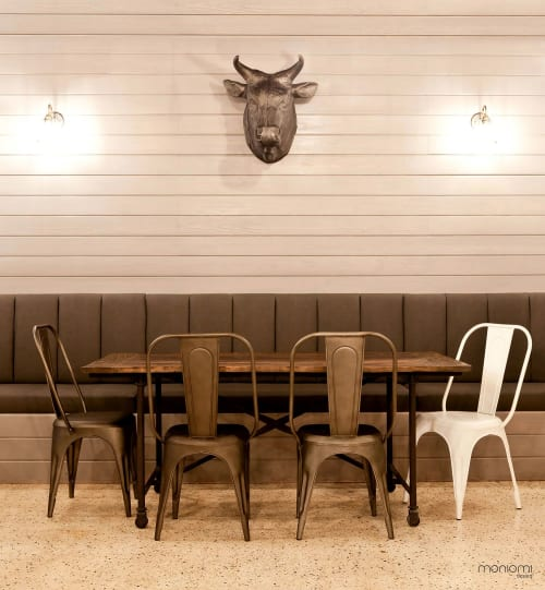 Interior Design by MONIOMI seen at PINCHO (Pincho Factory), Coral Gables - PINCHO FACTORY