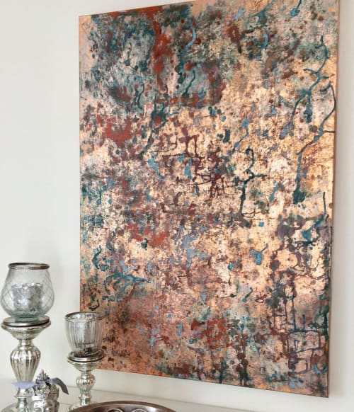 Paintings by Natalia Schaefer seen at Private Residence, Berlin - Four Seasons