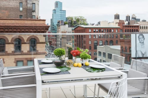 Work by KETTAL seen at Private Residence - Great Jones St, New York - Outdoor Furniture