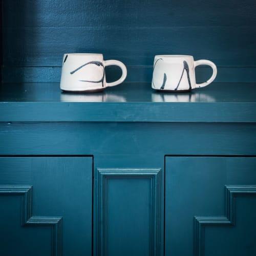 Tableware by Erin Hupp Ceramics seen at The Human Condition, San Francisco - Ink Splatter Mug