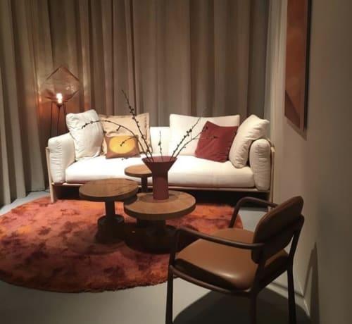 Pillows by M&Otto Design seen at Oude Postweg, Zeist - Pillow 'Glow' for Linteloo