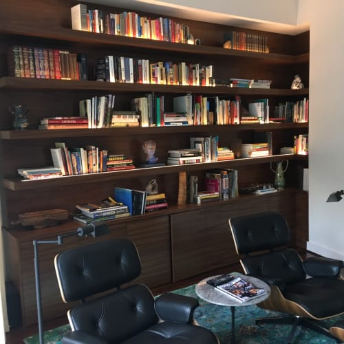 Furniture by ARDEZEN seen at Private Residence, Houston - Custom Built-in Library