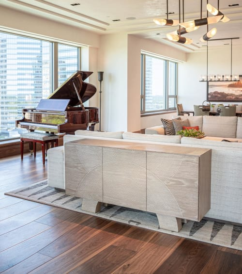 Furniture by Sun Furniture Design seen at Private Residence, Houston, Houston - Credenza
