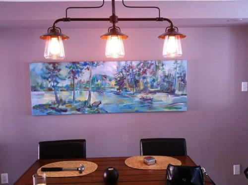 Paintings by Geoff Farnsworth seen at Private Residence, St. Catharines - Landscape Painting