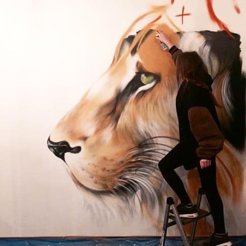 Emily Vanderlism - Street Murals and Murals