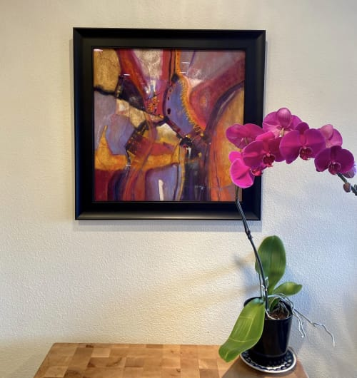 Paintings by Karen O'Brien Fine Art seen at Private Residence, Tacoma - A Rumple in Time