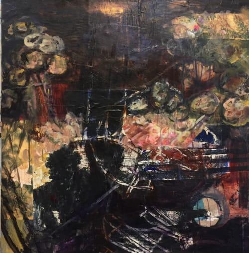 Paintings by Jennifer Perlmutter seen at Lafayette, Lafayette - Flesh and Gunpowder
