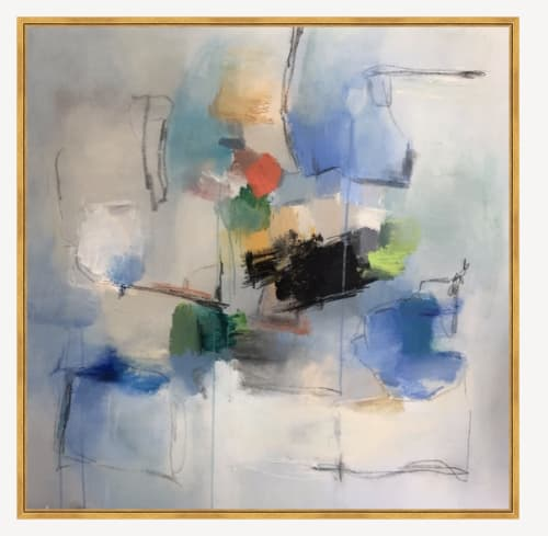 """Paintings by Erin Donahue Tice Fine Art seen at Private Residence, Austin - """"Take Me to the East End"""""""