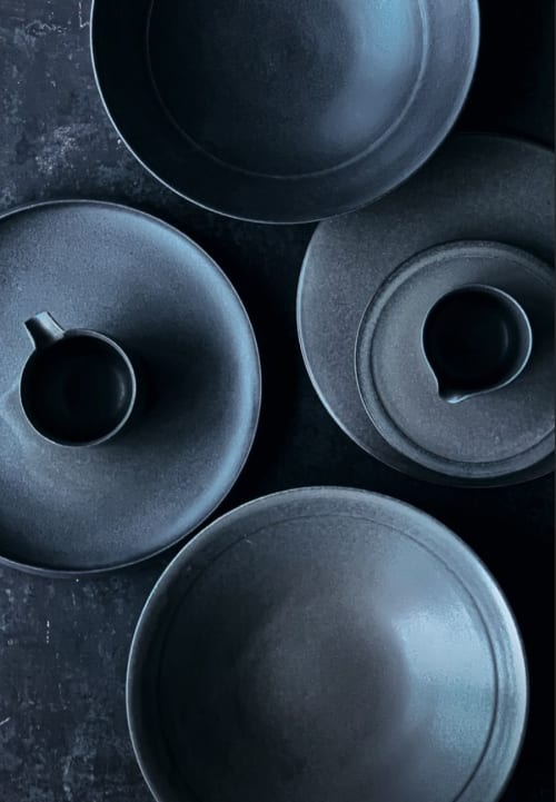 Ceramic Plates by Bokyung & Minsoo seen at Private Residence, Hamburg - Ceramic Plates