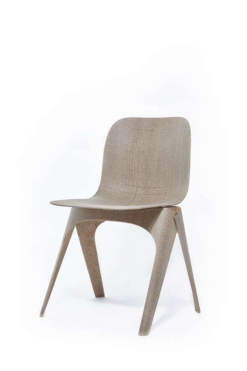 Chairs by LABEL / BREED seen at LABEL / BREED Studio, Amsterdam - Flax chair