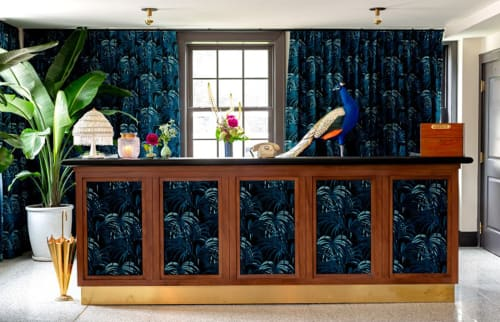 Interior Design by Reunion Goods seen at Atlanta, Atlanta - Clermont Hotel