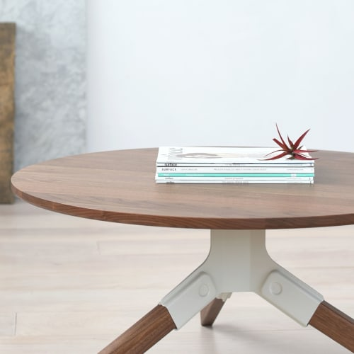 Tables by Misewell seen at Evernote, Redwood City - Conrad Coffee Table