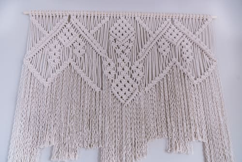 Macrame Wall Hanging by Amafiberart seen at Private Residence - Macrame Tapestry
