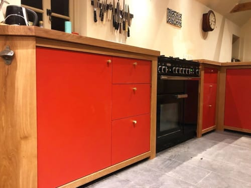 Furniture by Rhum Lawrence seen at Private Residence, Framlingham - Kitchen Cabinets
