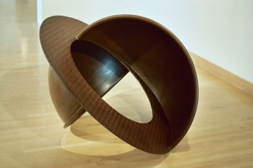 Public Sculptures by Kenneth Capps seen at Private Residence, San Diego - Equators and Viaduct