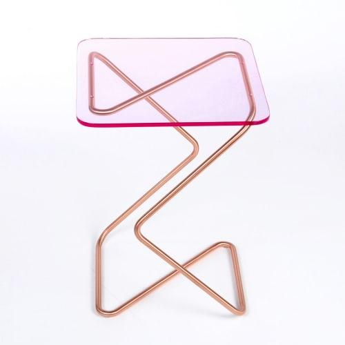 Tables by KRAY Studio by Rita Kettaneh seen at Dubai Design District, Dubai - The Square