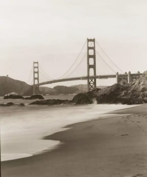 Photography by Tom Baril seen at Zuckerberg San Francisco General Hospital and Trauma Center, San Francisco - Baker Beach