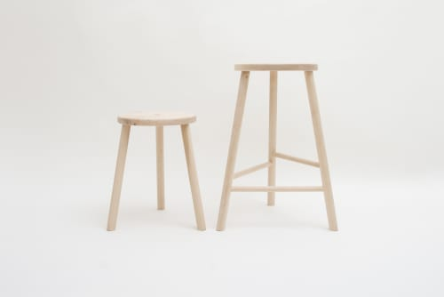 Chairs by joji Fukushima of a ⁄ i studio seen at Bestie, Vancouver - Lamp Stool