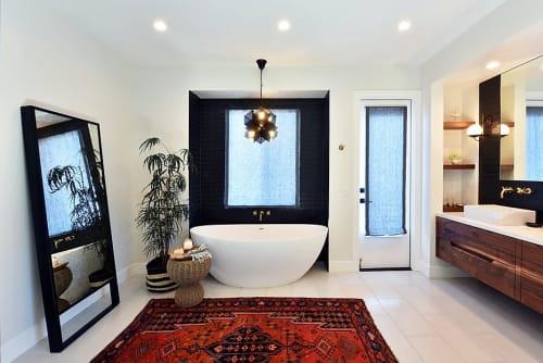 Interior Design by KC Interior Design seen at Private Residence, San Marcos - Modern Master Bed & Bath Design