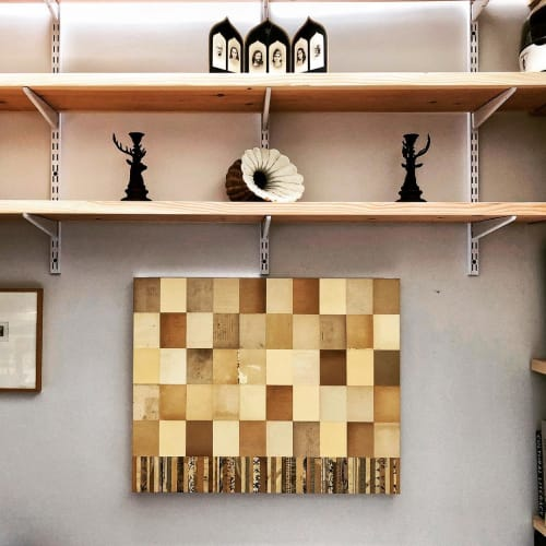 Wall Hangings by Jamie Brunson seen at Private Residence, Lamy - Collage