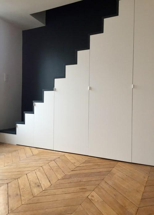 Interior Design by Thomas JENNY seen at Private Residence, Paris - Duplex - Paris 17