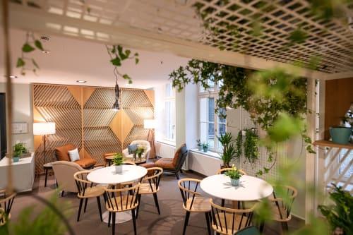 Interior Design by nod studios seen at Leipzig, Leipzig - creators black welcome area