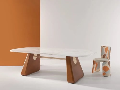 Chairs by SECOLO seen at Creator's Studio, Milan - Henge Dining Chair