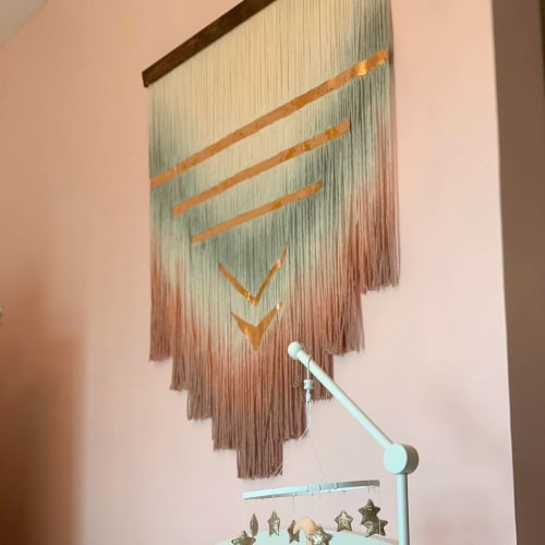 Wall Hangings by Shaggyhands UAE seen at Private Residence, Abu Dhabi - Wall Hanging