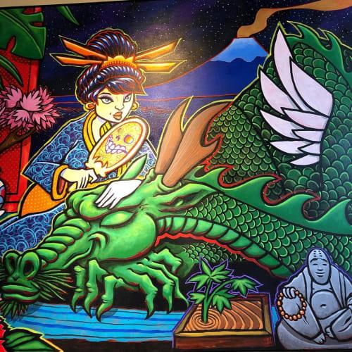Sonny Wong - Art and Street Murals