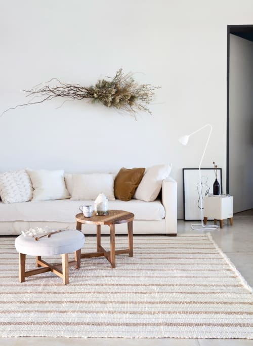 Pillows by AWANAY seen at Private Residence, Buenos Aires Province - CORONA RUG
